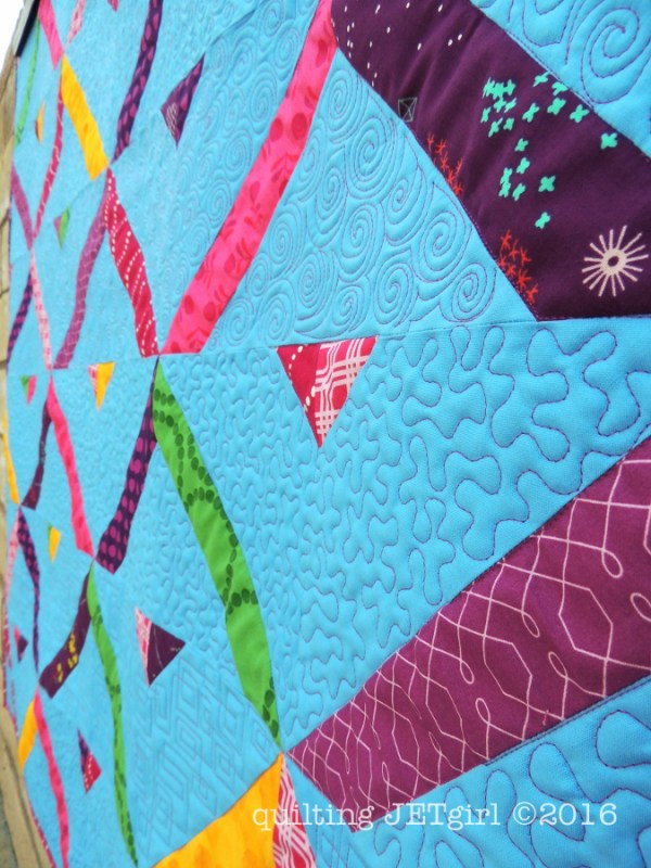 High Road Low Road - Quilting Detail