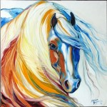 Gypsy Vanner Dream by Marcia Baldwin