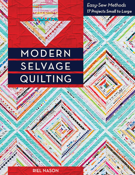 Modern Selvage Quilting Cover