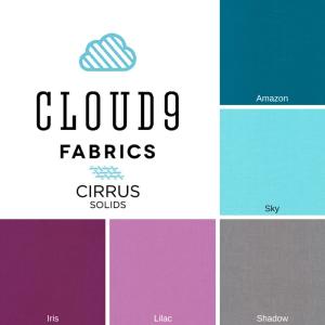 2016 Cloud9 Cirrus Solids New Block Blog Hop Color Palette