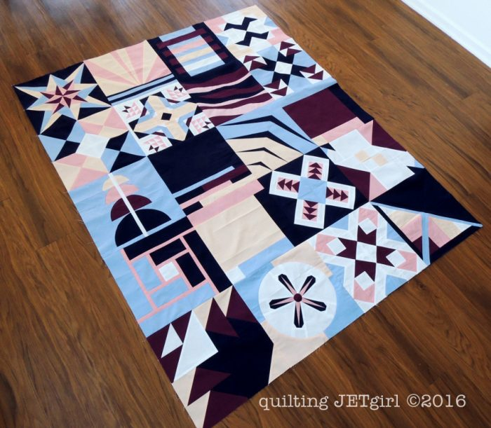 2016 Paintbrush Studio New Block Charity Quilt Top