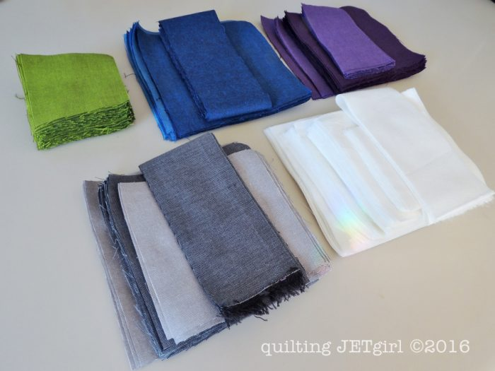 Meadow Mystery Quilt - Fabric Cutting Complete