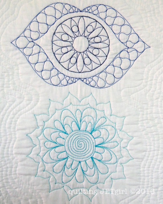 Quilt the Life Into It - Turquoise and Blue 50wt