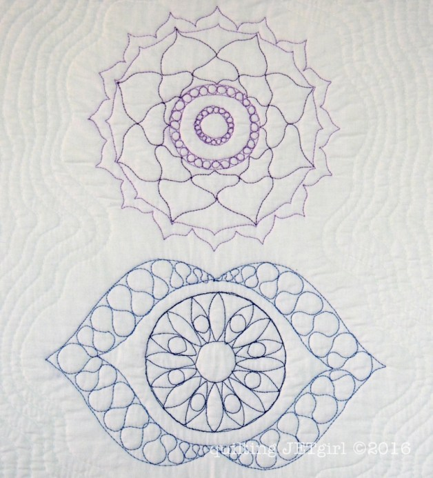 Quilt the Life Into It - Blue and Purple 50wt