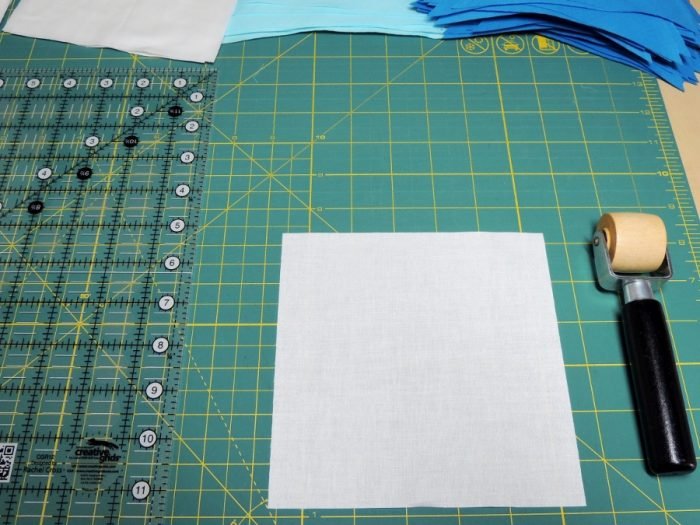 Square in a Square Tutorial - Wooden Seam Roller (non affiliate link)