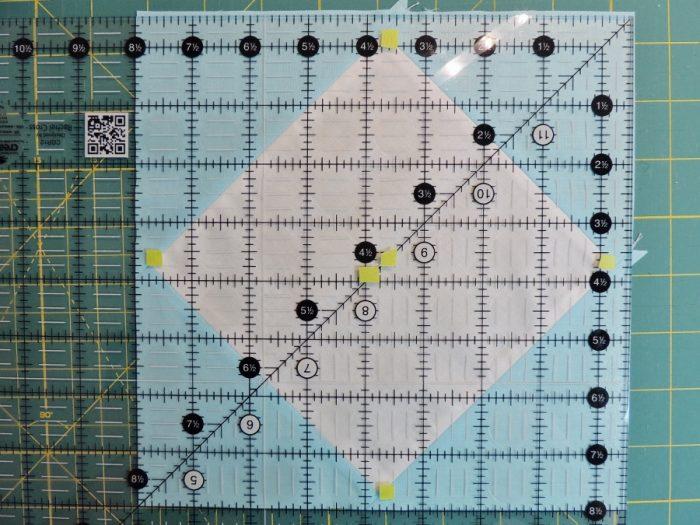 Square in a Square Tutorial - Final Trim