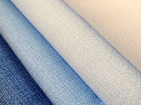 Triangle Transparency Sample Fabric Bundle: Blue