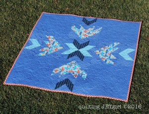 Ready, Set, Fly Baby Quilt