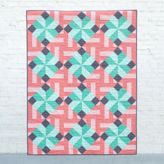 Tiled Parquet - Quilt Photography by Michelle Bartholomew
