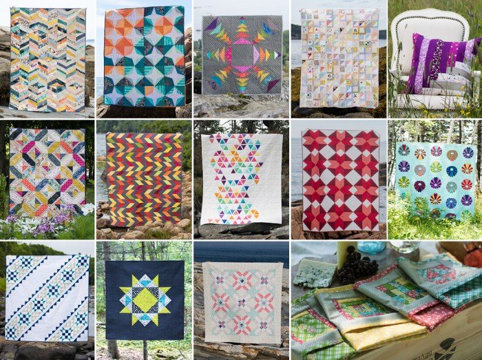 The 2017 Quilter's Planner Includes 14 Quilt Patterns