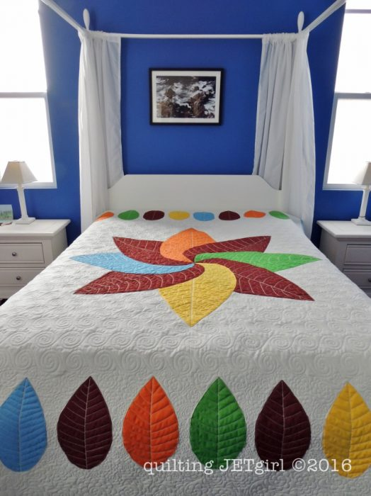 Cocoa Leaf Quilt