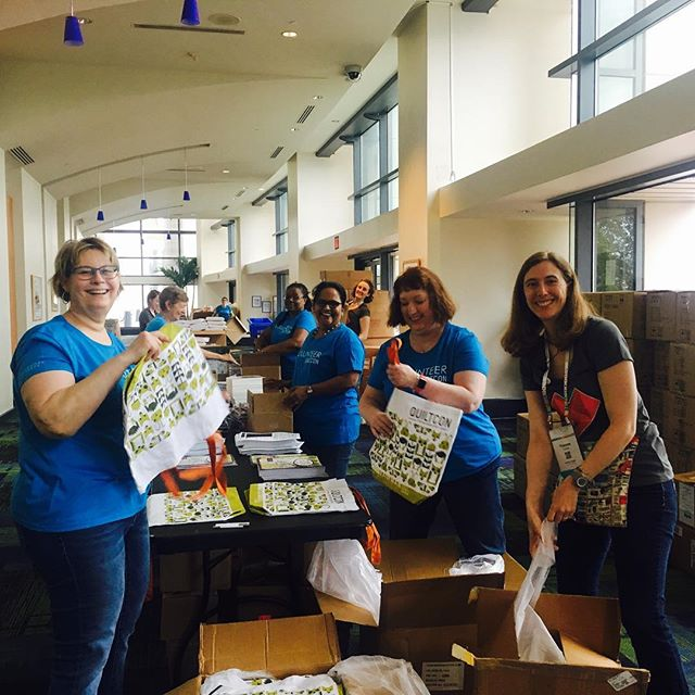 Stuffing Goodie Bags