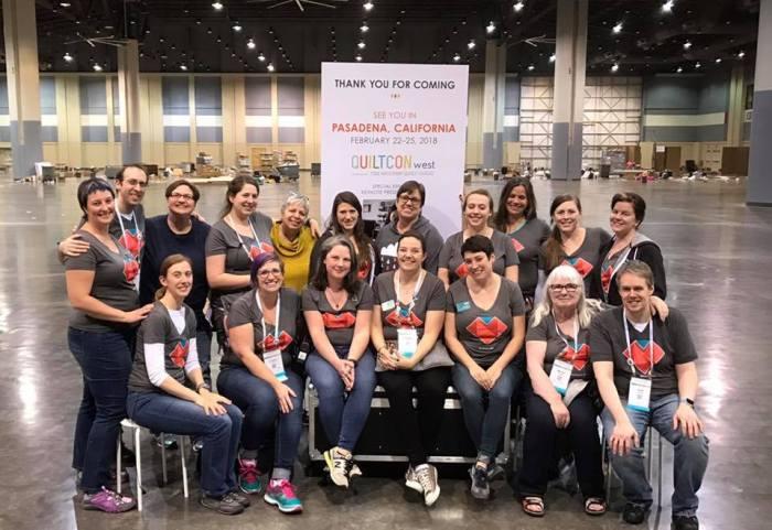 2017 QuiltCon East Savannah Crew