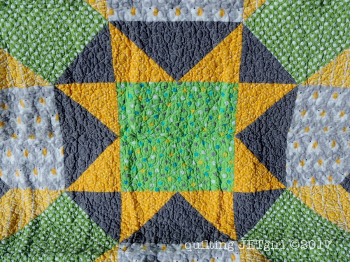 Baby Carter Lucent Quilt - Quilting Detail
