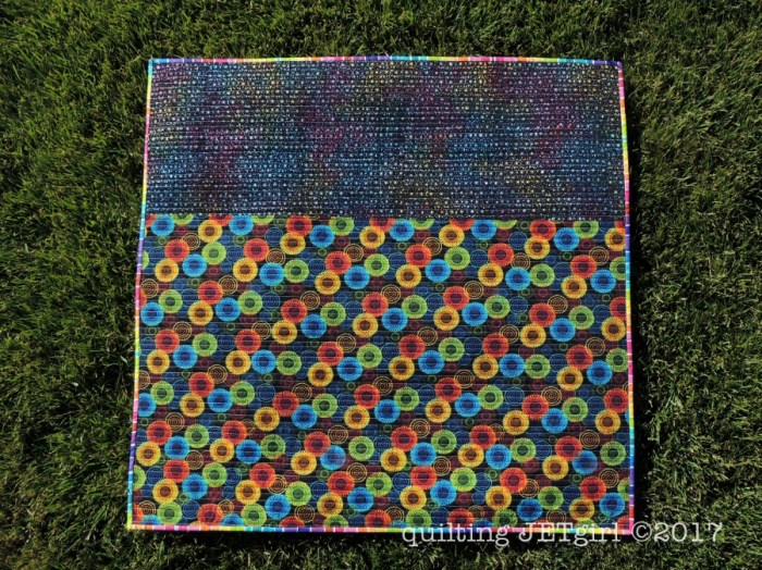 Freefall QAL - Quilt Backing