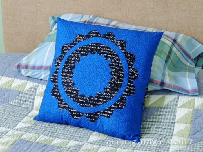 RinAlong - Finished Pillow
