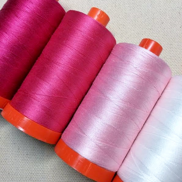 Solution: Strategic Aurifil Thread Choices!