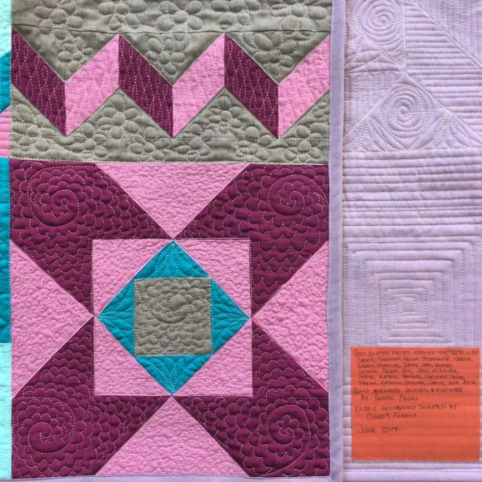 Cloud9 Charity Quilt - Label