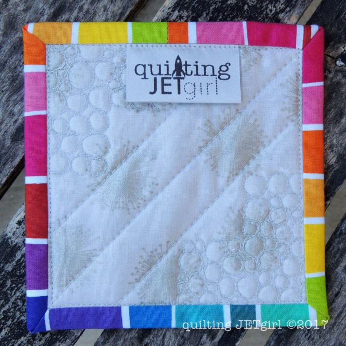 Patreon Mini Mini Quilt - Backing