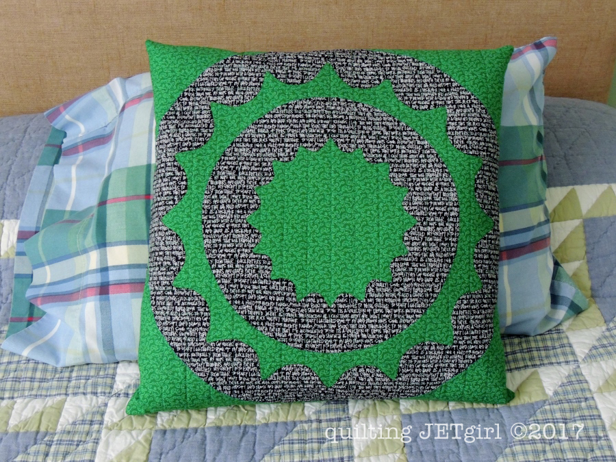 Rin Along - Second Pillow Finish