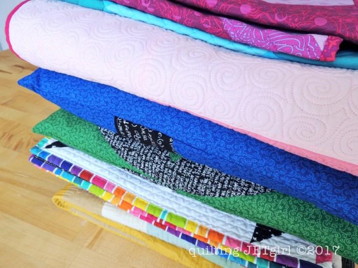 AV Fair 2017 - Pile of Quilts