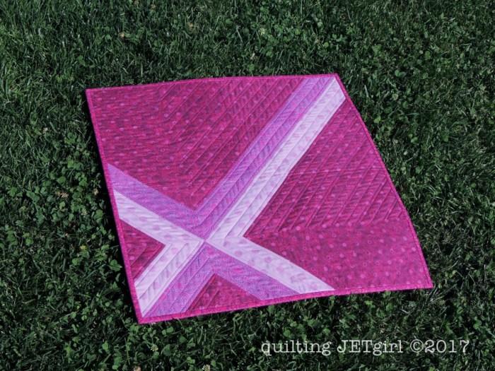 Cross Check Mini Quilt
