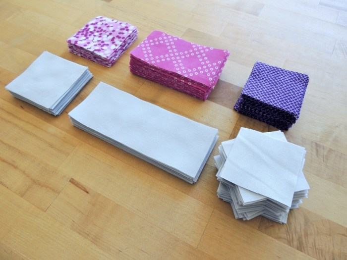 Magnolia Mystery Quilt - Fabric Cut
