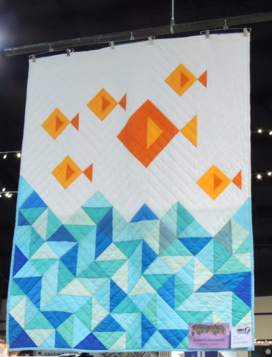 Modern Hand Quilted Quilt