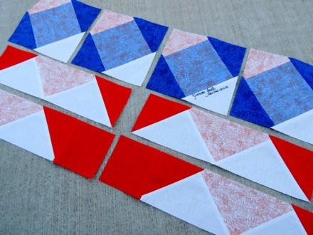 Cotton Cuts - Sewn August Puzzle Pieces