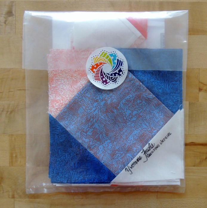 Cotton Cuts - Packaged up and Ready to Send Back to Kim