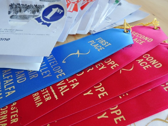 Items Scorecards and Ribbons