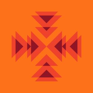 Orange to Red