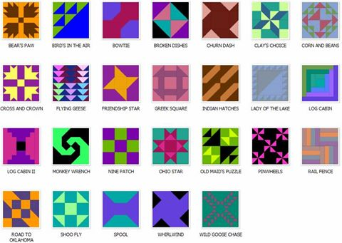 Traditional Quilt Block Examples