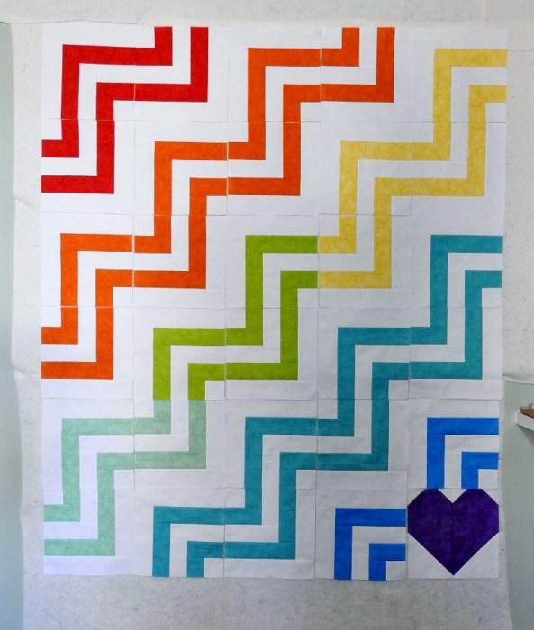 #QuiltsForVegas - Quilt Top 1