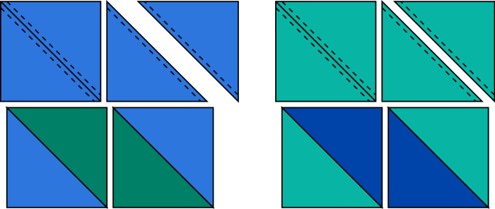 Half-Square Triangles (HSTs)