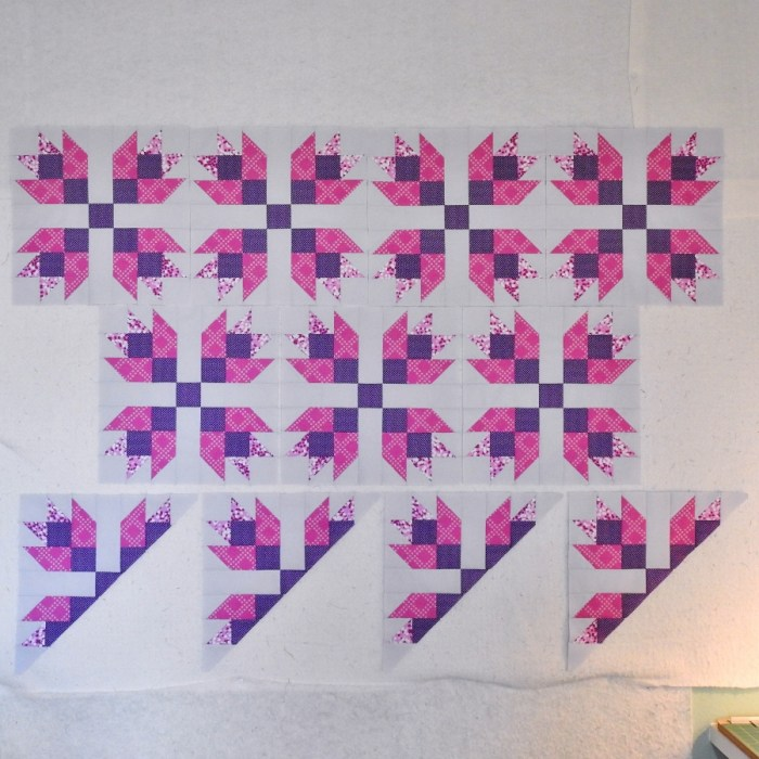 Magnolia Mystery Quilt - Pieced Blocks