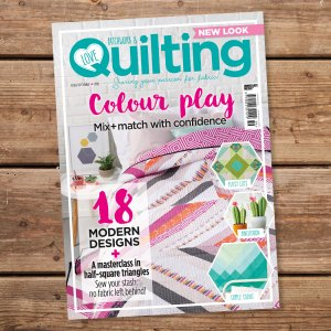 Issue 59 of Love, Patchwork & Quilting (photo courtesy of LP&Q)