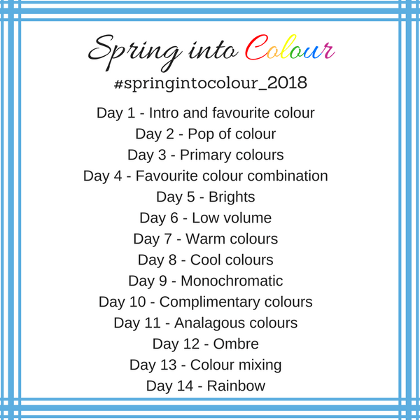 Spring Into Colour 2018