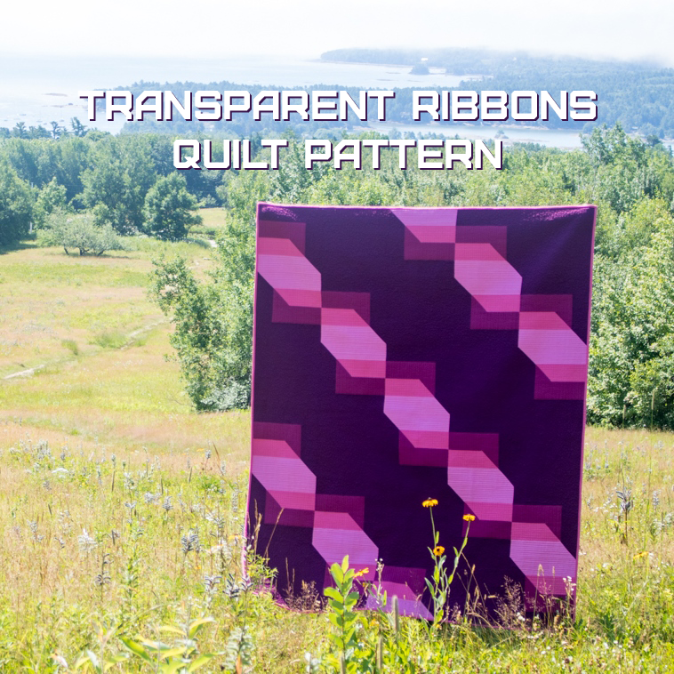 Transparent Ribbons Pattern Release