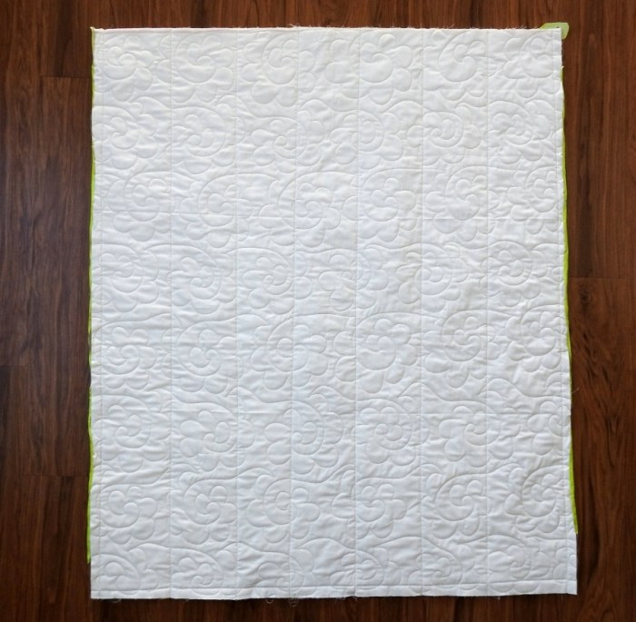 Weighted Quilt