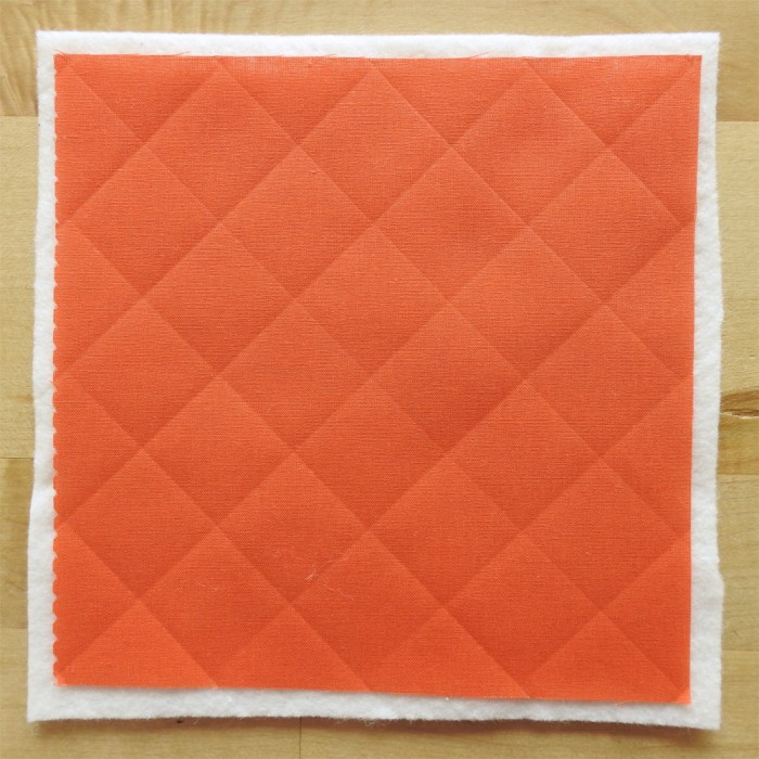 Cross-hatch Quilting