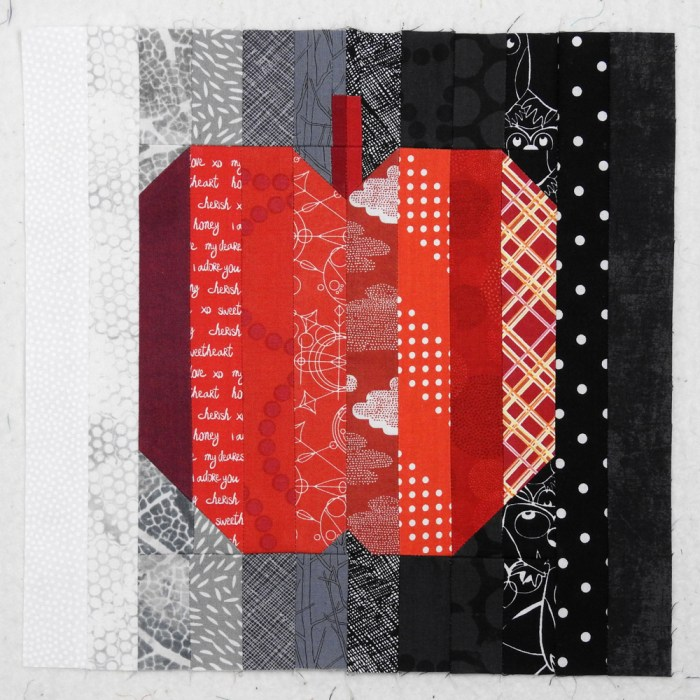 Big Apple Quilt Block