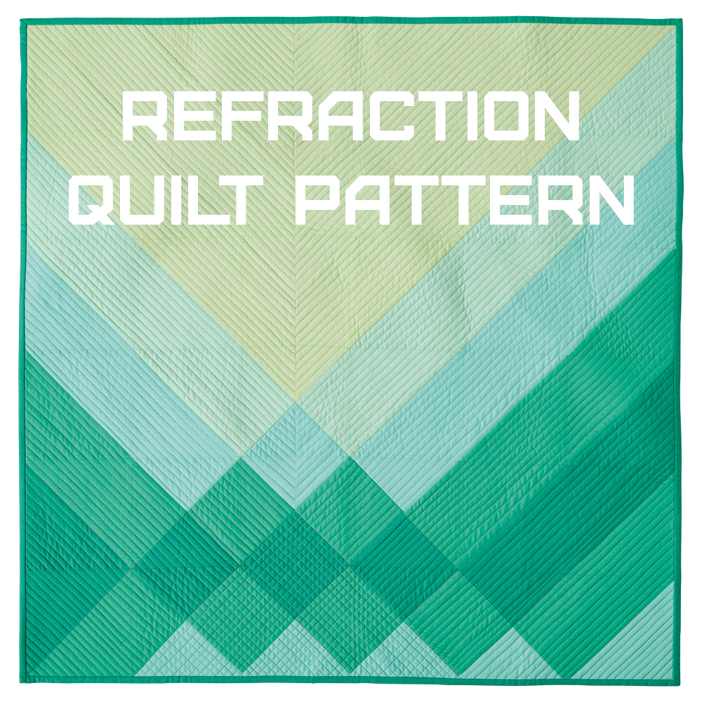 Refraction Digital Quilt Pattern Release
