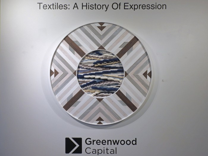 Textiles - A History of Expression Exhibit