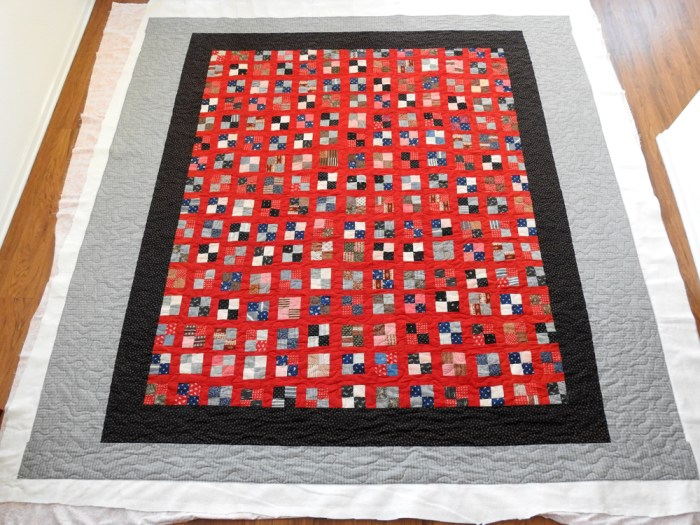 Vintage Quilt – Finished Quilting