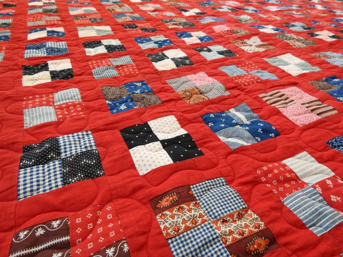 Vintage Quilt – Finished Quilting / Quilting Details
