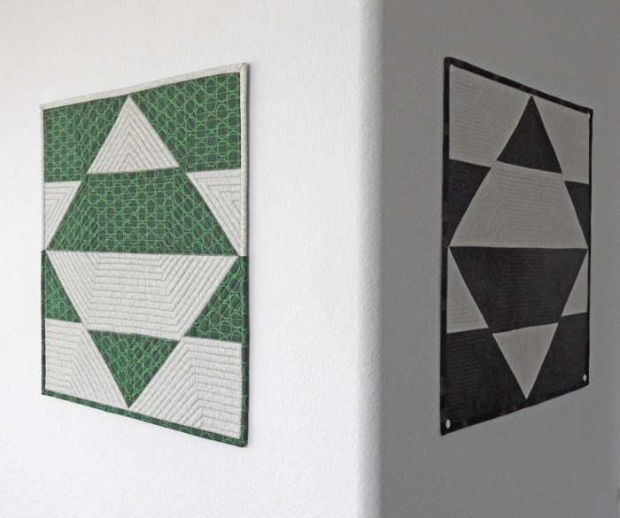Combinatorics Mini Quilts