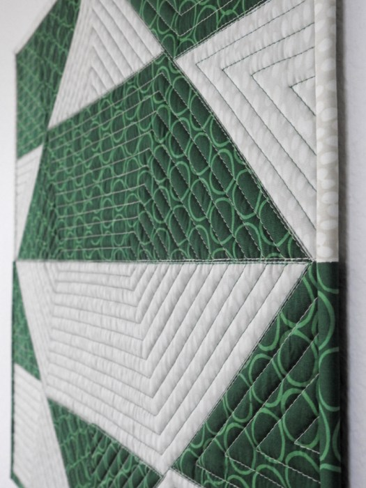 Combinatorics Introductory Tutorial Mini Quilt