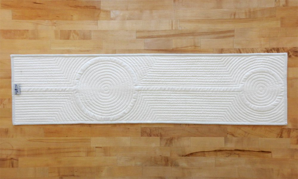 Crop Circles Table Runner
