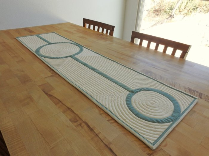 Crop Circles Table Runner